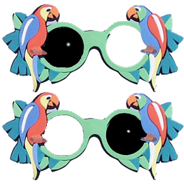 Foam Glasses - Parrot Occluder