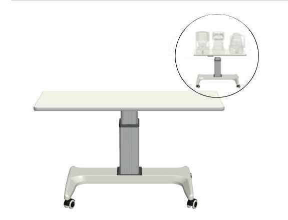 Veatch Wheelchair Accessible Instrument Table