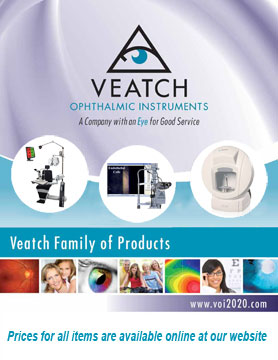 Veatch Ophthalmic Instruments Catalog