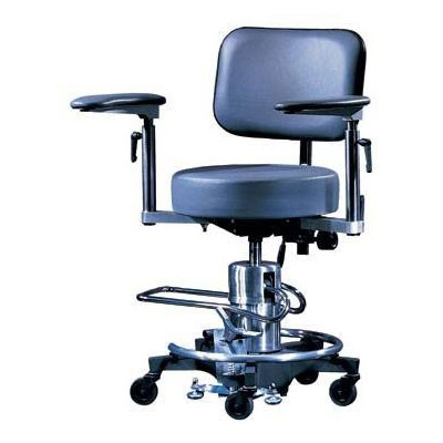 558 Hydraulic Adj Arm Stool