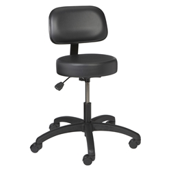 Standard Exam Stool With Back