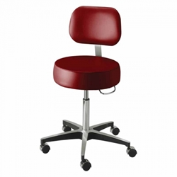 Deluxe Exam Stool With Back